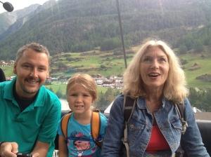 Pre-hike gondola ride