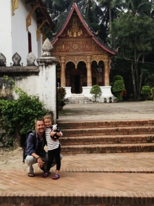 In front of Wat