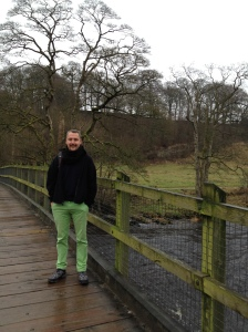 River Wharfe at Bolton's Abbey
