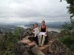 Atop Mt. Phousi