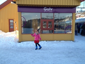 Train station in Geilo