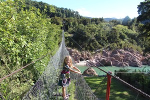 Buller Gorge Swing Bridge