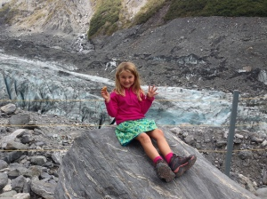 Walk to Fox Glacier