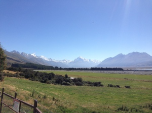 Mt Cook on a perfect day