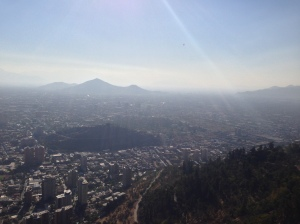 View from Cerro San Cristobol