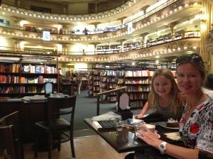 Booklovers delight at El Ateneo