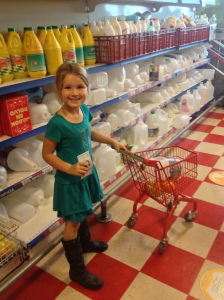 Shopping in Kid City