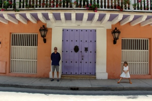 Cartagena's colorful hues