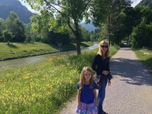 Walk along the river in Oberammergau