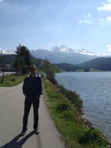St. Moritz lakeside walk
