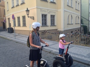 Exploring on Segways