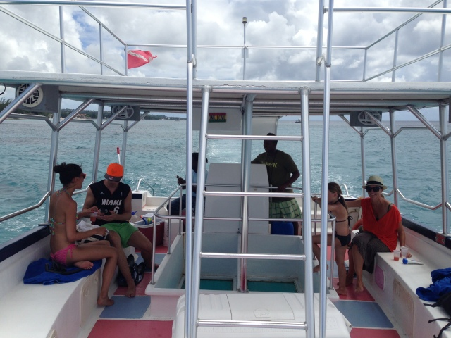 Heading out to snorkle with turtles